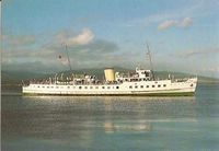 M.V. Balmoral. Originally built for Red Funnel's Isle of Wight service 1949