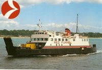 Red Funnel Cowes Castle. Southampton to Cowes