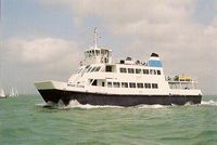 Wight Scene launched July 1992 - Wightline Cruises