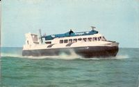 British Rail Seaspeed Hovercraft - Ryde to Portsmouth