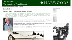 Just 3½ Miles The Memories of Percy Harwood