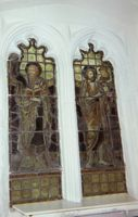 Stained glass windows in St Edmunds