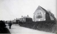 Station Road and St Marks Church circa 1920