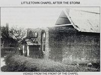 Littletown Church, damaged in gale 1897