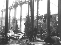 Fire at J.S.Whites, 1911