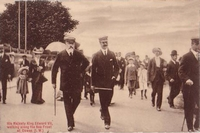 King Edward VII in Cowes c1905