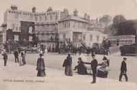 Royal Marine Hotel, West Cowes c1900