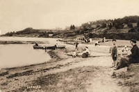 Gurnard beach (date unknown)