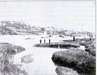 Regatta on the creek circa 1900 [Broderick]