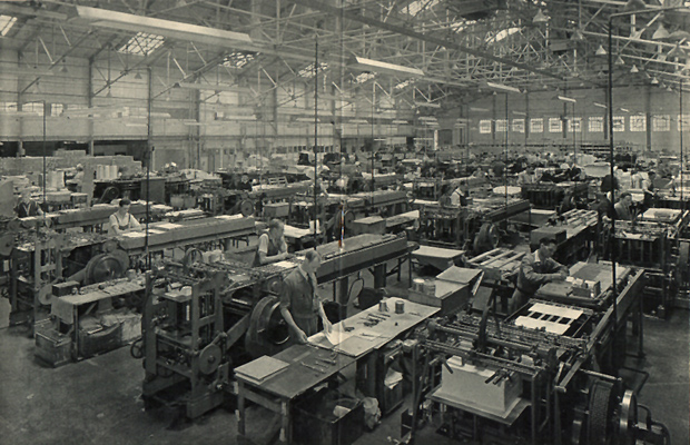 Picture of Yorkshire factory