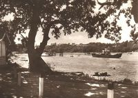 Leaving Fishbourne Terminal circa 1950