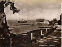 Leaving Fishbourne