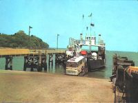Arriving Fishbourne mid 1960