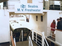 Bus being used for passsenger accommodation March 1981