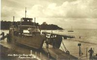 Car Ferry at Fishbourne circa 1950
