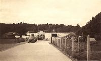 Fishbourne ferry approach circa 1950