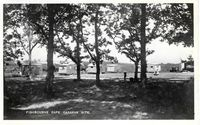 Fishbourne Cafe & Camping site 1957 [Towill]