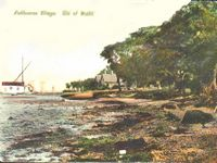 Fishbourne Beach circa 1900