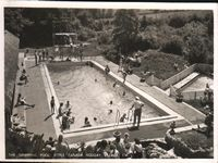 Little Canada Swimming Pool circa 1960