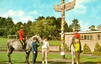 Little Canada and the Totam pole 1962 [Barrett]