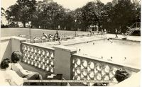 Sun Terrace and Pool, Warners circa 1980