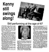 Kenny Mac [Weekly Post Sept. 1988]