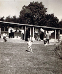 Visitor at Wootton Holiday Camp circa 1969