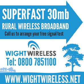 Avertisement for Wight Wireless