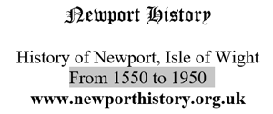 Advertisement for Newport History