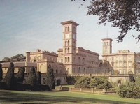 Picture of Osborne House. 19th century residence of Queen Victoria. Building designed and built in 184