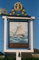 Sloop Inn sign 2002
