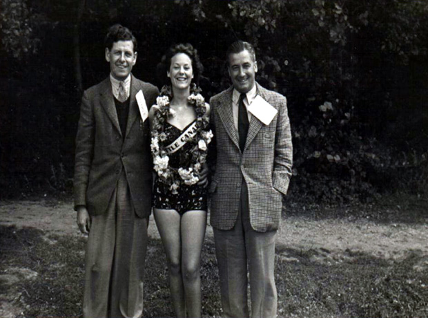 Picture of Dr. Kennedy at Little Canada Holiday Camp 1950s