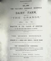 Copy of Grange Farm Auction Poster