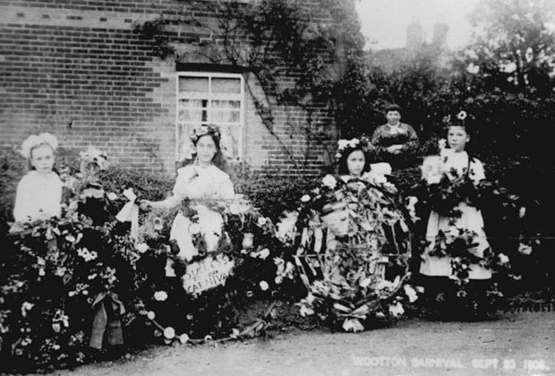 Picture of the 1908 Wootton Carnival
