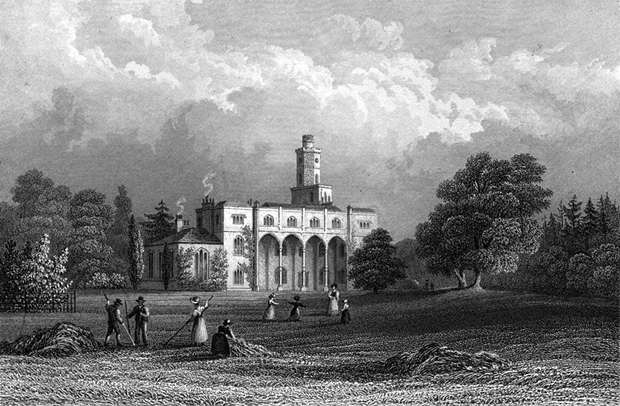 Picture of Fernhill House circa 1830