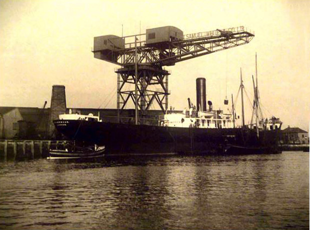 Picture of Cargo Steamer 'Hitherwood' 1922