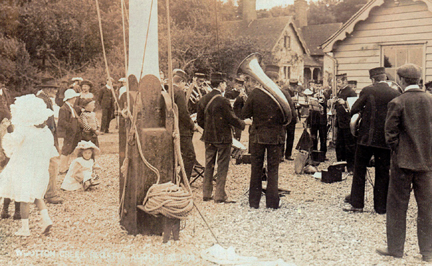 Picture of Wootton Creek Regatta 23rd August 1908