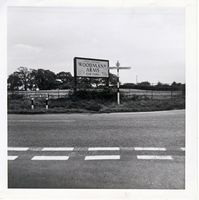 Wootton Common cross roads 1969 [Roland Richards]