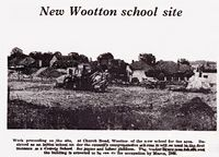 Wootton new school site 1968 [County Press]
