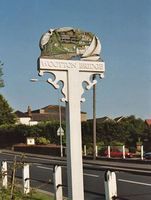 Wootton Bridge sign