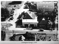 Lushington Garage c1955