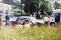 Collision, Wootton crossroad 1973 (Richards)