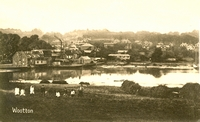 Wootton from Fern Hill c1910