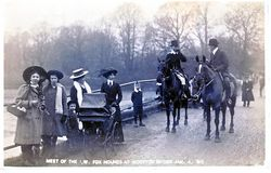 IOW Hunt at Wootton 1910 [Towill]