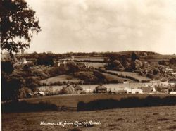 New Road and Fishbourne from Church Road circa 1910