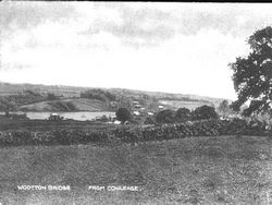 Fishbourne and the Creek from Church Road circa 1910