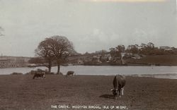 View of Kite Hill from Wootton Farm circa 1910