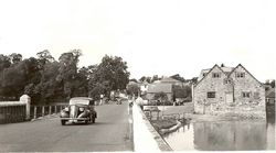 Looking towards Mill Square circa 1950s