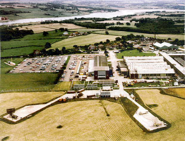 Picture of Aerial view of the site looking towards Newport
