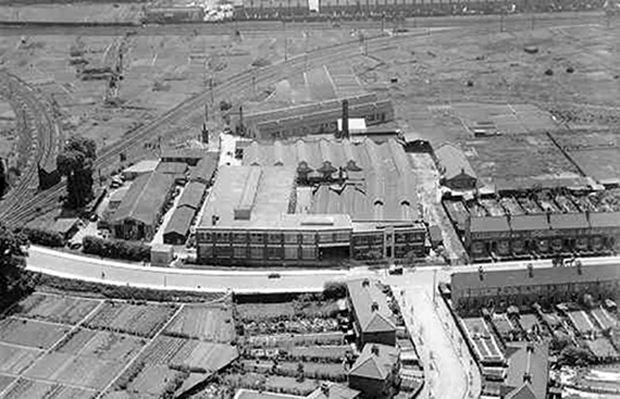 Picture of Plessey Ilford site c1930.